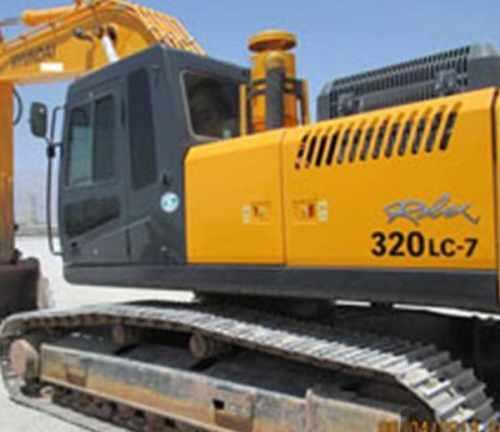 بیل مکانیکی هیوندایی 320