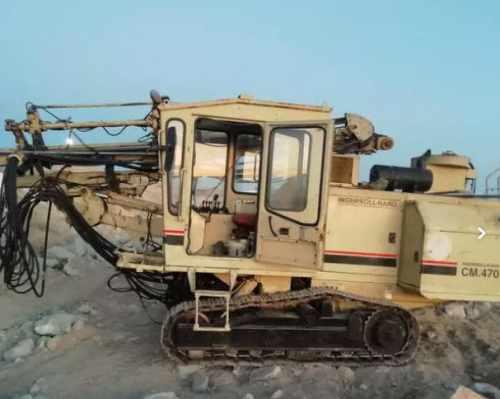 دستگاه حفاری دریل واگن اینگرسولند m470 هیدرولیک