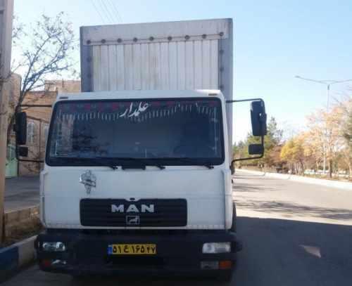 کامیون مان 8 تن باری