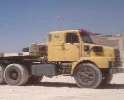 کامیون کشنده ولوو