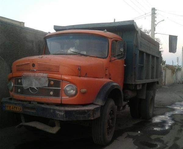 کامیون بنز۱۹۲۱ مدل ۱۳۴۶
